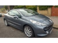 2009 Peugeot 207 CC 1.6 16v GT 2dr convertible, low mileage, full leather interior