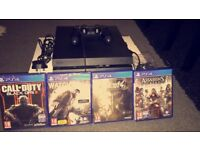 PS4 500gb only used once immaculate condition