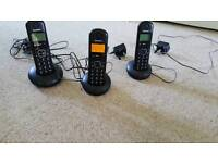 Triple house phone