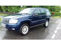 Jeep Grand Cherokee Limited 2.7 CRD 4x4