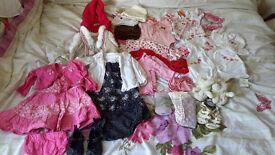 Girls baby bundle 3-6 months
