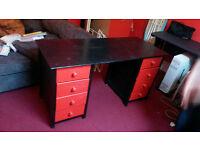 Nice, solid wooden desk
