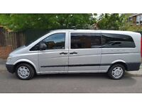 Mercedes Vito travelliner Xtra Long one owner from new FSH 12 months MOT