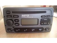 Ford Stereo 6000cd MP3 Player (Fits Transit, Fiesta etc)