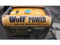 Wolf 3100 Petrol Power Generator