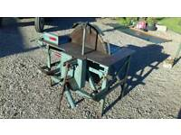 Newlands tractor mounted pto driven bench saw