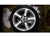 Set of 4 - 16 inch BMW 1 Series Alloy Wheels and Tyres