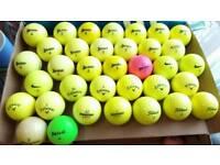 Coloured top make golf balls x 31 plus 12 lower make
