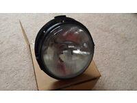 Land Rover defender Headlamps x 2 (2002 onwards.)