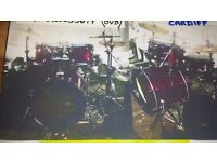 Mapex horizon 5pc Drum kit...RED