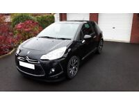 DS 3 BlueHDi DStyle Nav (s/s). Low mileage in excellent condition
