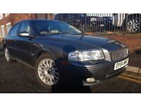 2004 Volvo S80 2.4 TD D5 SE 4dr,MOT TILL JANUARY 2018 AUTOMATIC, DIESEL, FULL LEATHER INTERIOR £995