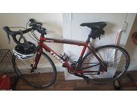 Trek 1.1 Road Bike For Sale + Extras.