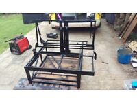3/4 and full width Rock and Roll campervan bed frames, very well made and strong