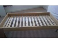 IKEA LILLEHAMMER Single Bed Frame - Single Bed Frame - IKEA Single Bed Frame
