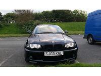 2003 BMW 3 series 330ci m sport / LOW MILEAGE & FRESH MOT
