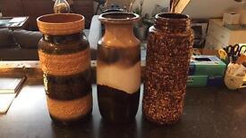 3 vases £35