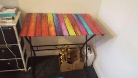 Glass Rainbow Table