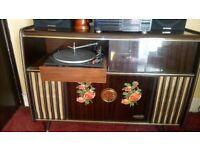 1960s Radio Gram Cocktail Cabinet (Not Working)