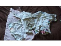 Bundle of newborn and baby clothes for free