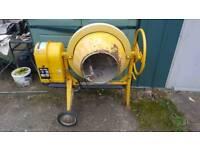 Clarke electric cement mixer