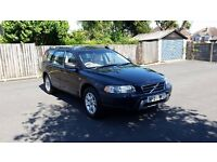 2005 VOLVO XC70 SE LUX CROSS COUNTRY D5 AUTO BLACK 7 SEATER 2 KEYS FULL SERVICE HISTORY