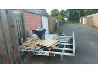 One axle trailer good condition