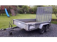 Indespension Twin Axle Plant Trailer 10ft x 6ft 2.6 ton Gross.