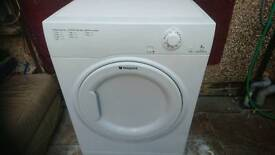 7 kg hotpoint vented dryer