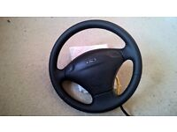 Ford Escort Cosworth/RS2000 Retrimmed Steering Wheel