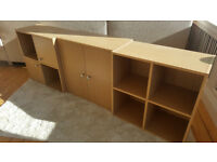 Matching set of 3 Storage Cupboards for SALE