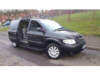 Chrysler Grand Voyager 2006 Auto petrol 3.3 stow n go 8 months mot DVD player