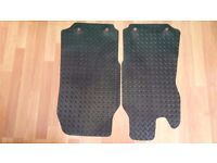 Ford Transit Mk6 & Mk7 Heavy Duty Check Rubber Mats - Brand New