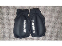 Weighted Boxing Training Gloves - 1kg each - Used - Zippers bit loose