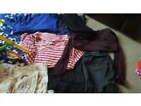 Maternity clothes staple items bundle 10/12
