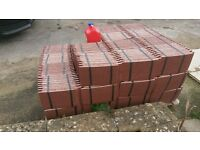 Redland Concrete Plain Roofing Tiles - Natural Red