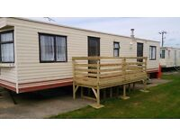 caravan for hire. sleeps 6 people. at st osyths , clacton on sea