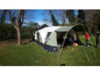 Sunncamp 550s, 2012 Model, Trailer Tent, 4 Birth with optional bedrooms as extras. £1400 ono.