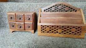 Trinket box and rack