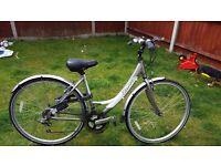 Apollo womens bike 19 inch