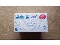 WaterWipes Sensitive Baby Wipes, Natural & Chemical-Free, pack of 9 (540 Wipes) Super Value Pack