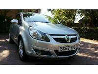 VAUXHALL CORSA 1.2 2008 SXI ** FULL SERVICE HISTORY ** LONG MOT ** TINTED WINDOWS **