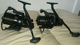 2 x 3lb Nash entitys full duplon with 2 penn affinity 7000