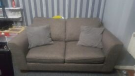 M&S Double Bed Settee in grey