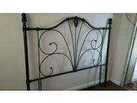Kingsize metal headboard
