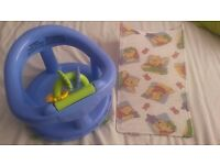The Safety 1st Swivel Bath Seat & bath support