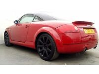 2002 | Audi TT | RED Edition | 3 Doors | | service history | 1 Year MOT
