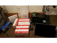 Printer/monitor and toners