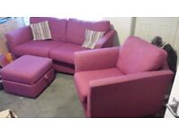 sofa and chair puff