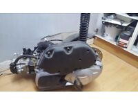 2015 Vespa GTS 2015 engine, loom, panels, lights, clocks, cooling system, seat, handle bars,footpegs